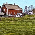 The Red Barn by Nancy Griswold