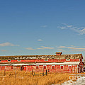 The Red Barn by Sue Smith