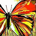 The Red Butterfly by Saundra Myles