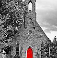 The Red Door Monochrome by Steve Harrington