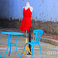 The Red Dress Lunch Special by Kris Hiemstra