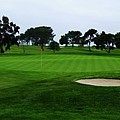 The Red Flagstick-torrey Pines by See My  Photos