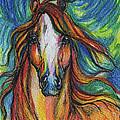 The Red Horse by Angel Ciesniarska