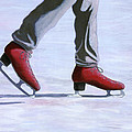 The Red Ice Skates by Karyn Robinson