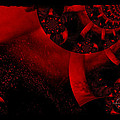 The Red Planet Cometh by Absinthe Art By Michelle LeAnn Scott