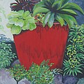 The Red Pot by Suzanne Theis