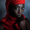 The Red Scarf by Peppe