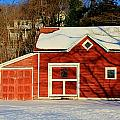 The Red Shed by Karen Silvestri