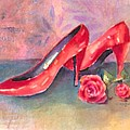 The Red Shoes by Arline Wagner