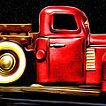 The Red Truck by Bill Cannon
