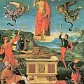 The Resurrrection Of Christ by Raphael