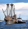 The Return Of Mayflower II by Janice Drew