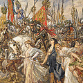 The Return Of The Victors by Sir John Gilbert
