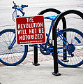 The Revolution Will Not Be Motorized by Rona Black