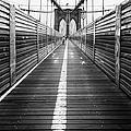 The Riders Brooklyn Bridge by John Farnan