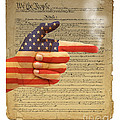 The Right To Bear Arms-4 by Chris Van Es