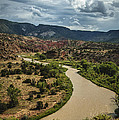 The Rio Chama by Terry Rowe
