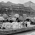The Riverfront Of Chungking, China by Everett