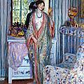 The Robe by Carl Frieseke