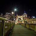 The Roberto Clemente Bridge by Jimmy Taaffe