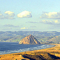 The Rock At Morro Bay by Barbara Snyder