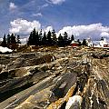 The Rocks At Pemaquid by Skip Willits
