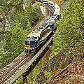 The Rocky Mountaineer Train by Adam Jewell