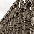 The Roman Aqueduct Of Segovia by Lorraine Devon Wilke