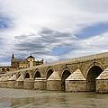 The Roman Bridge Of Cordoba by Lorraine Devon Wilke