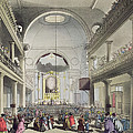 The Roman Catholic Chapel, Lincolns Inn by T. & Pugin, A.C. Rowlandson