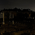 The Roman Forum At Night by Weston Westmoreland