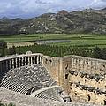 The Roman Theatre In Aspendos Antalya Turkey  by Ivan Pendjakov