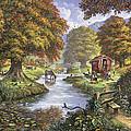 The Romany Camp by Steve Crisp