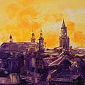 The Roofs Of Lublin by Luke Karcz