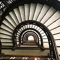 The Rookery Staircase Lasalle St Chicago Illinois by Kelly Hazel