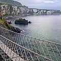 Rope Bridge Northern Ireland by Georgi Djadjarov