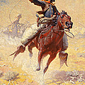 The Roping by William Robinson Leigh