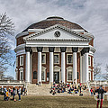 The University Of Virginia Rotunda by Terry Rowe