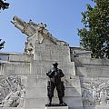 The Royal Artillery War Memorial By Charles Sargeant Jagger And Lionel Pearson In London England by Robert Preston