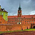 The Royal Castle by Tomasz Dziubinski