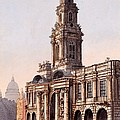 The Royal Exchange, 1816 by Rudolph Ackerman