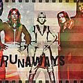 The Runaways - 1977 by Absinthe Art By Michelle LeAnn Scott