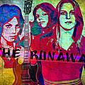 The Runaways - Up Close by Absinthe Art By Michelle LeAnn Scott