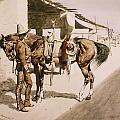 The Rural Guard Mexico by Frederic Remington