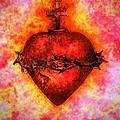 The Sacred Heart Of Jesus Christ by Annie Zeno