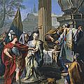 The Sacrifice Of Polyxena  by Giambattista Pittoni