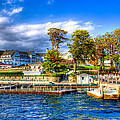 The Sagamore Hotel On Lake George by David Patterson