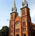 The Saigon Notre-dame Basilica by Laurel Talabere