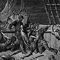 The Sailors Curse The Mariner Forced To Wear The Dead Albatross Around His Neck by Gustave Dore