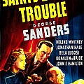 The Saints Double Trouble, Us Poster by Everett
